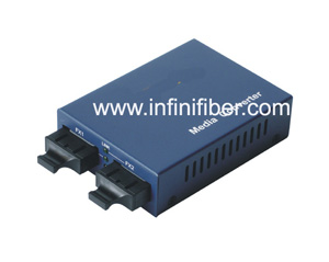 Multimode to Single mode Optical Fiber Converter